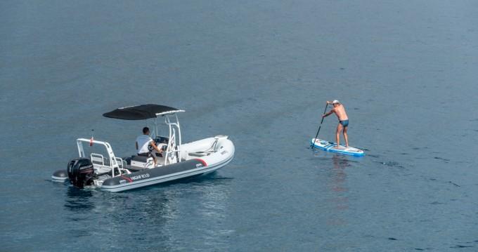 Verhuur Rubberboot in Trogir - Highfield 640DL