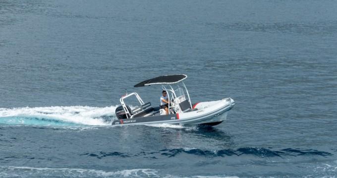Huur Rubberboot met of zonder schipper Highfield in Trogir