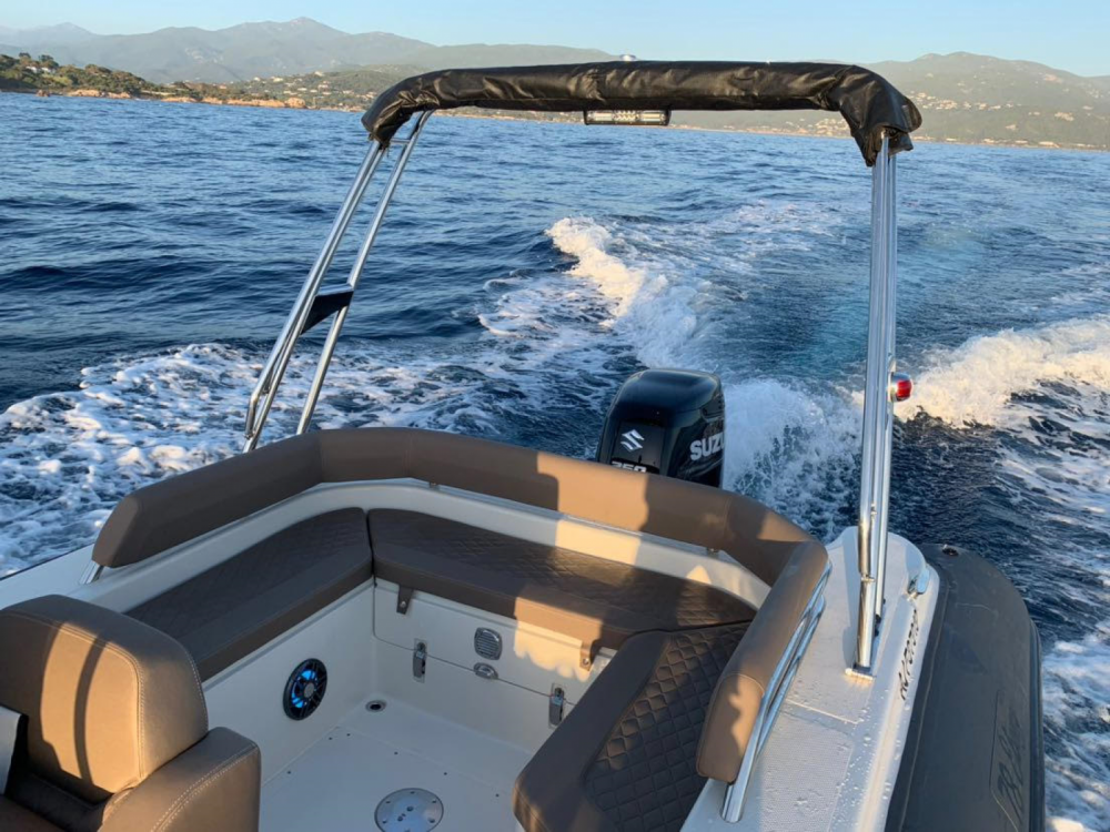 Verhuur Rubberboot in Pietrosella - Bsc 78 ebony