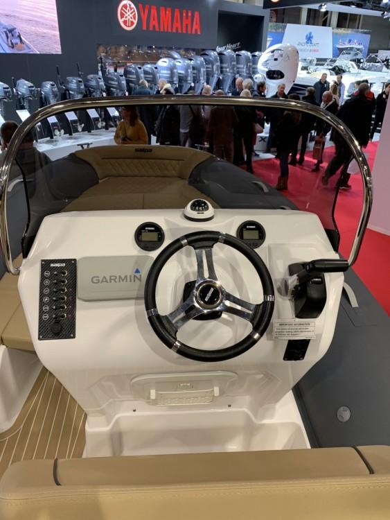 Verhuur Rubberboot Salpa met vaarbewijs