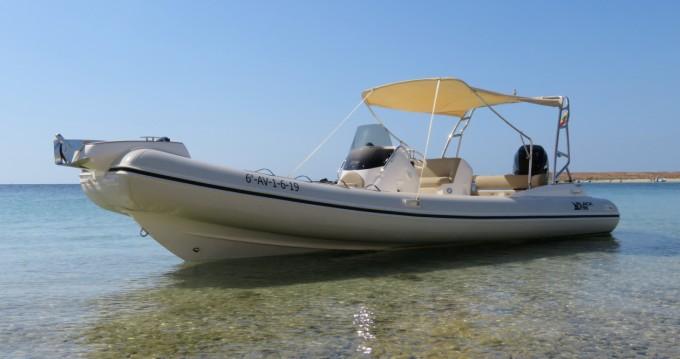 Huur Rubberboot met of zonder schipper Black Fin in Ibiza Town