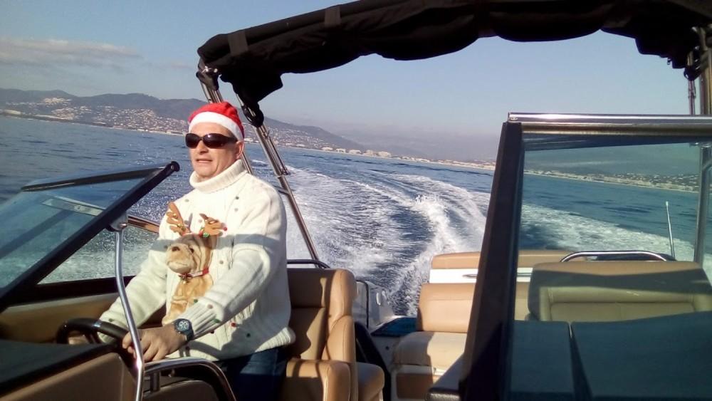Huur Motorboot met of zonder schipper Four Winns in Nice