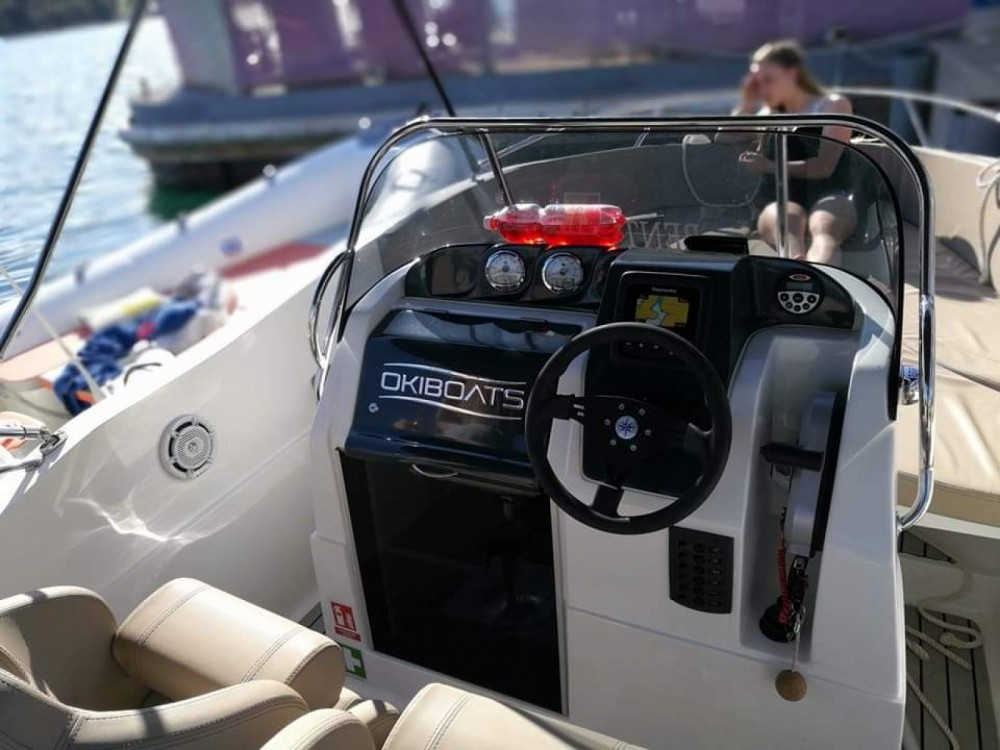 Okiboats Barracuda 545 Open te huur van particulier of professional in Pula