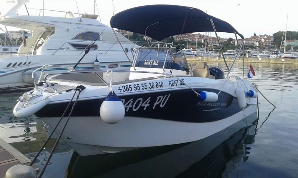 Jachthuur in Pula - Okiboats Barracuda 545 Open via SamBoat