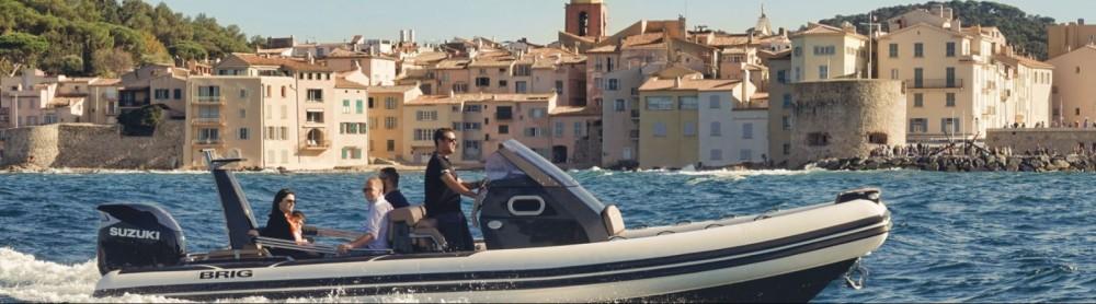 Huur Rubberboot met of zonder schipper Brig in Saint-Raphaël
