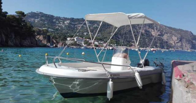 Verhuur Motorboot in Blanes - Astec FIBER 400