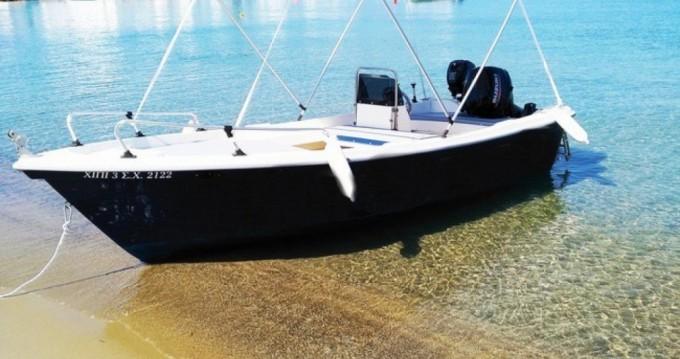 Motorboot te huur in Pollonia voor de beste prijs