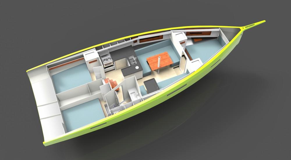 Verhuur Zeilboot in Grimaud - Rm RM 1180