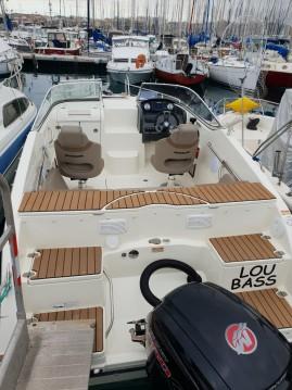 Huur een Quicksilver Activ 595 Cruiser in Antibes