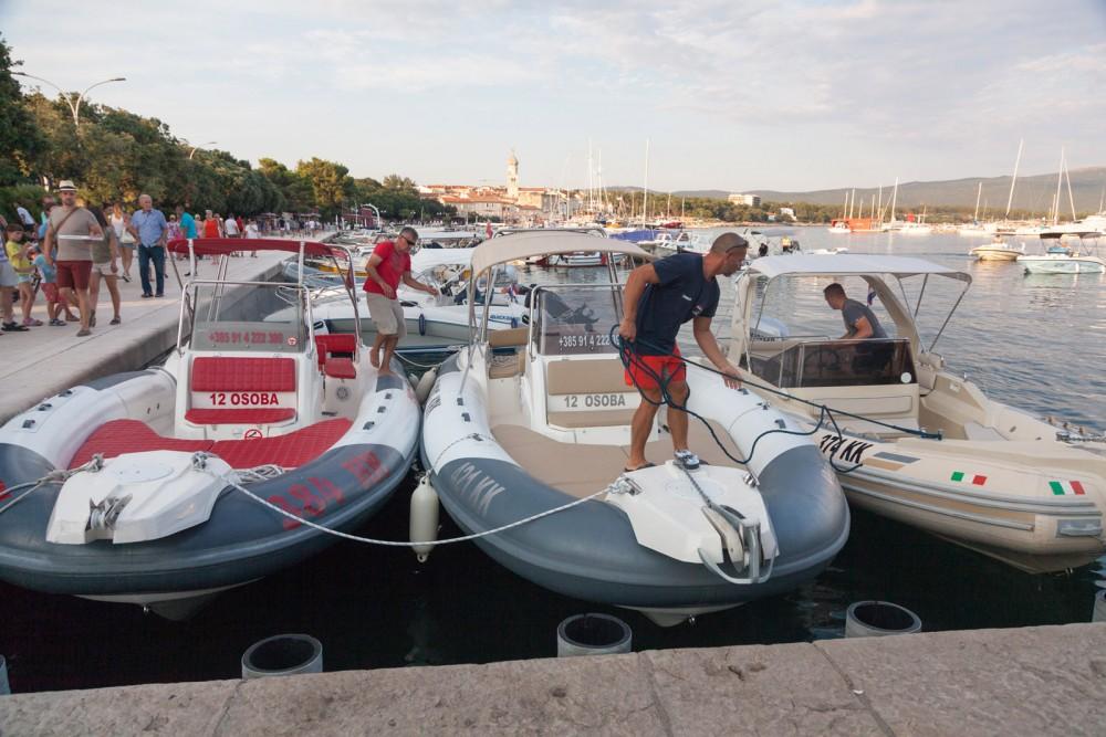 Verhuur Rubberboot in Krk - Solemar SOLEMAR