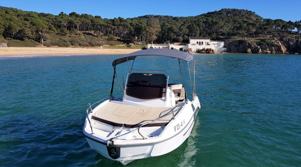 Bootverhuur Bénéteau Flyer 550 Sun Deck in Palamós via SamBoat