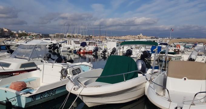 Huur Motorboot met of zonder schipper Jeanneau in Antibes