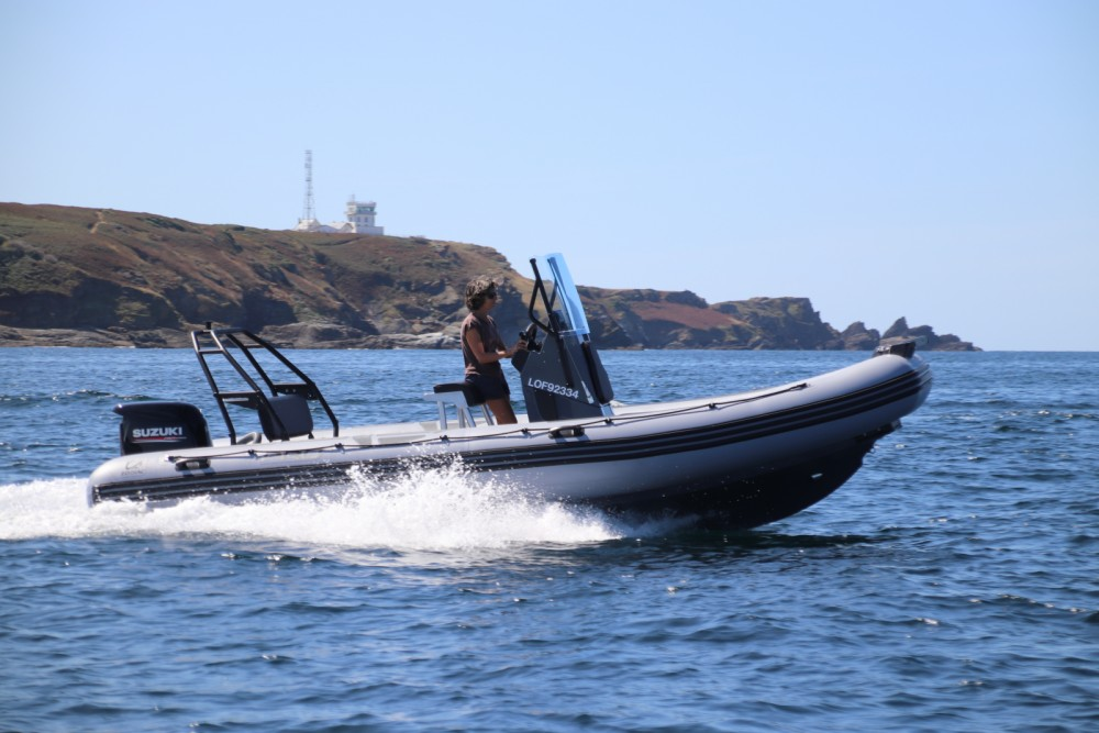 Verhuur Rubberboot in Lorient - Zodiac Pro 6.5