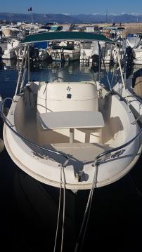 Bootverhuur Jeanneau Cap Camarat 5.5 WA in Antibes via SamBoat