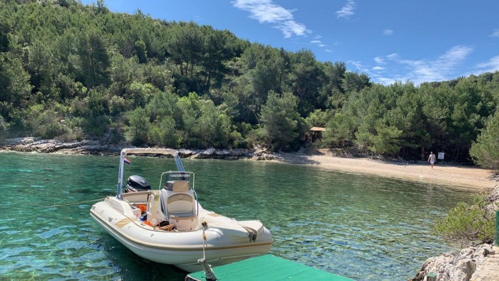 Verhuur Rubberboot Bsc met vaarbewijs