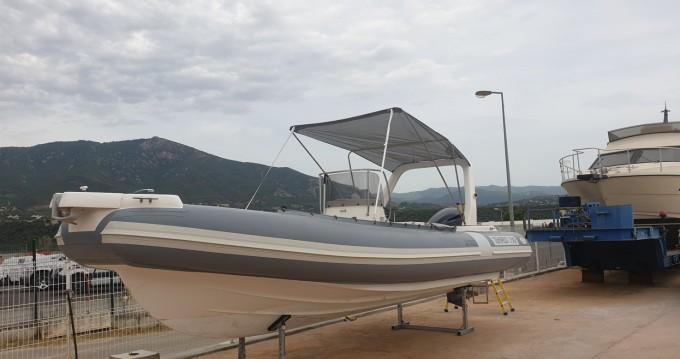Verhuur Rubberboot in Propriano - Capelli Capelli 750 Work