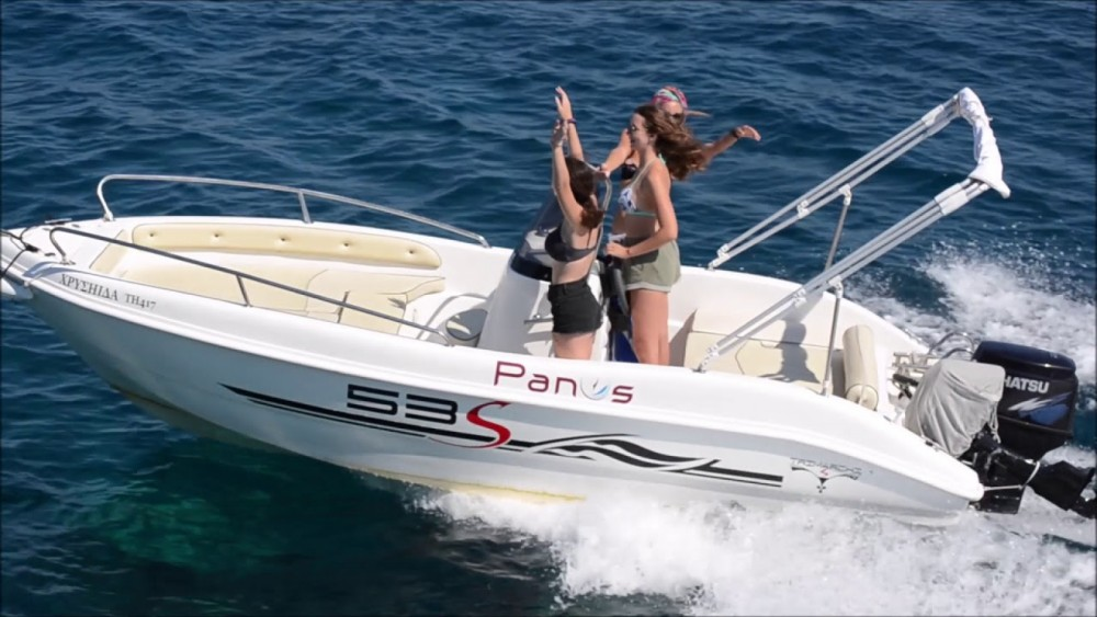 Verhuur Motorboot in La Savina - Karnic Bluewater 2460
