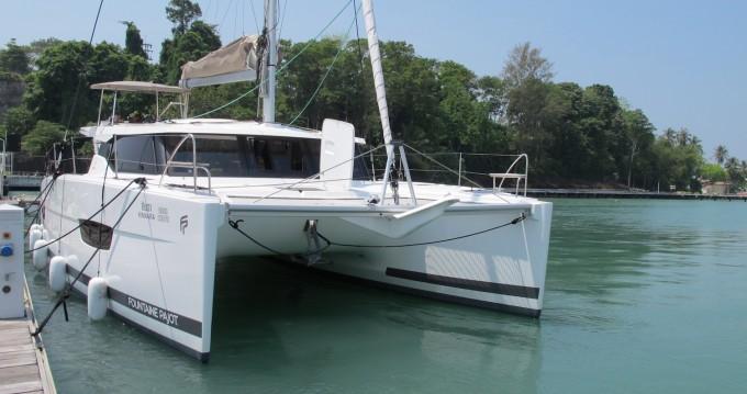 Verhuur Catamaran in Phuket - Fountaine Pajot Lucia 40