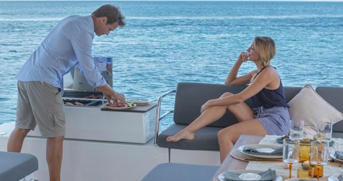 Huur Catamaran met of zonder schipper Fountaine Pajot in Volos