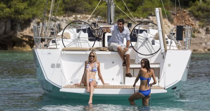 Jachthuur in Mykonos (Island) - Dufour Dufour 460 Grand Large via SamBoat