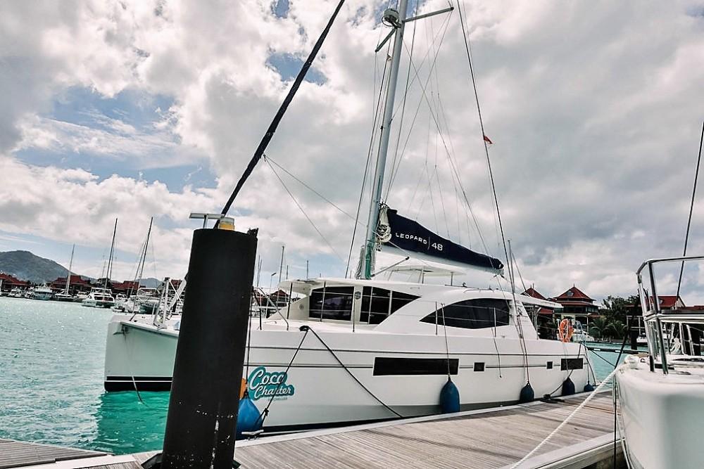 Robertson and Caine Leopard 48 te huur van particulier of professional in Seychellen
