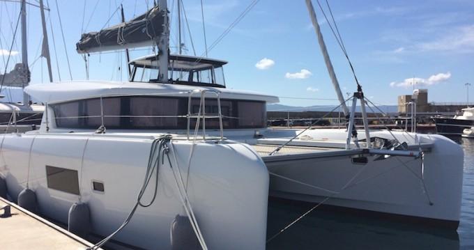Verhuur Catamaran in Propriano - Lagoon Lagoon 42