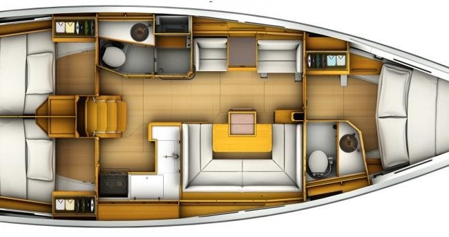 Jeanneau Sun Odyssey 40.9 te huur van particulier of professional in Macinaggio