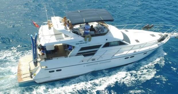 Verhuur Motorboot in Tortola - Horizon HORIZON 56