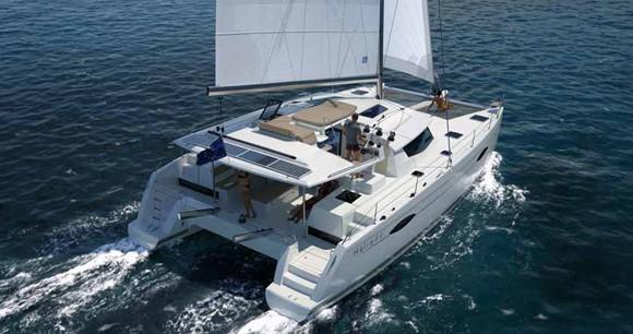 Huur Catamaran met of zonder schipper Fountaine Pajot in Saint Thomas
