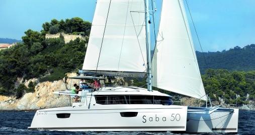 Verhuur Catamaran in Saint Thomas - Fountaine Pajot Saba 50