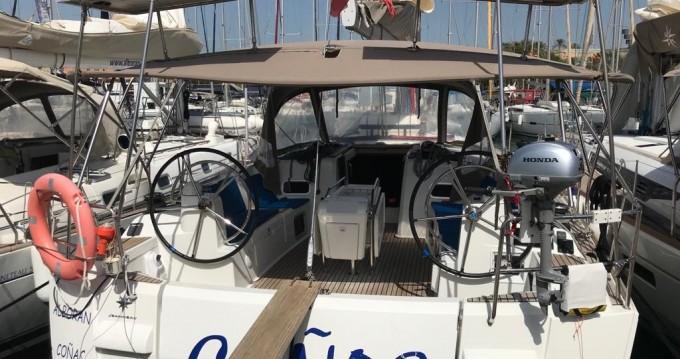 Verhuur Zeilboot in Palma de Mallorca - Jeanneau Sun Odyssey 519