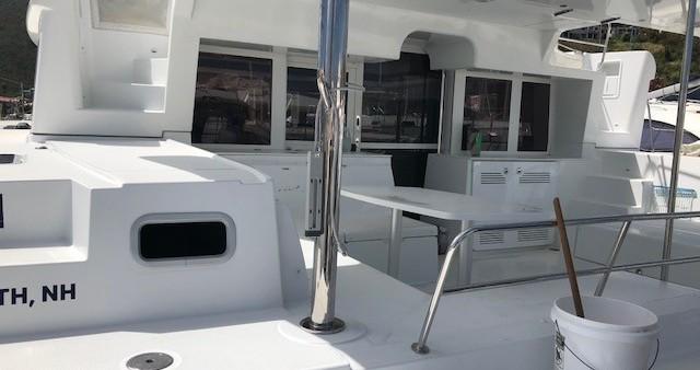 Bootverhuur Tortola goedkoop Lagoon 450 F