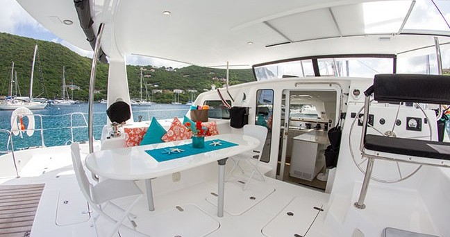 Verhuur Catamaran in Tortola - Voyage Voyage 480