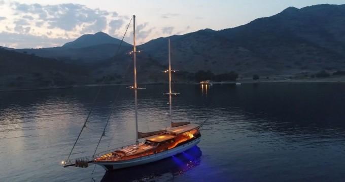 Huur Zeilboot met of zonder schipper Custom Built in Bodrum