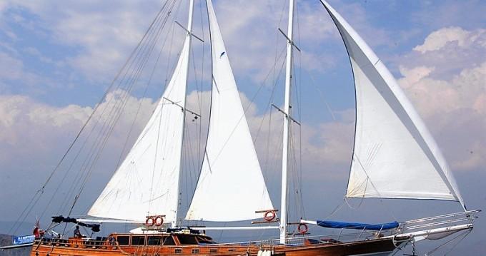 Huur Zeilboot met of zonder schipper Custom Built in Rhodes