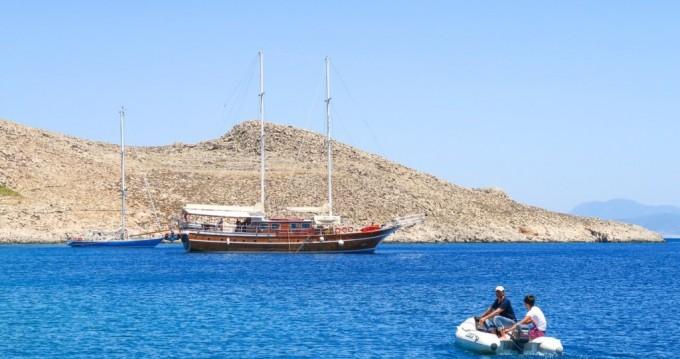 Verhuur Zeilboot in Kos - Custom Built Gulet