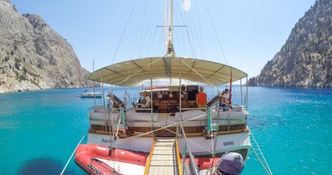Huur Zeilboot met of zonder schipper Custom Built in Kos