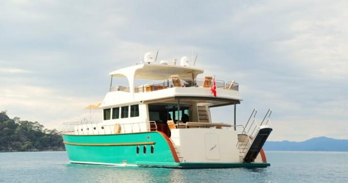Huur een Custom Built Motor Yacht in Bodrum