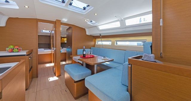 Verhuur Zeilboot in Korfoe - Jeanneau Sun Odyssey 490