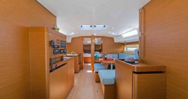 Huur een Jeanneau Sun Odyssey 490 in Korfoe