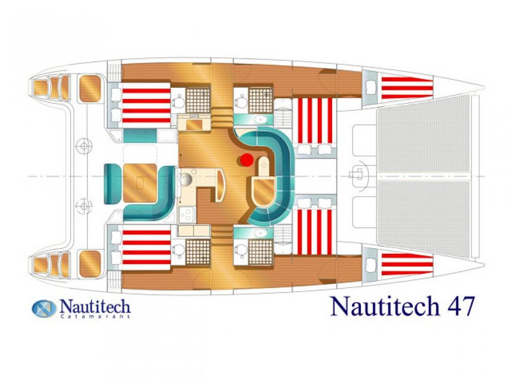 Huur een Nautitech Nautitech 47 in Álimos