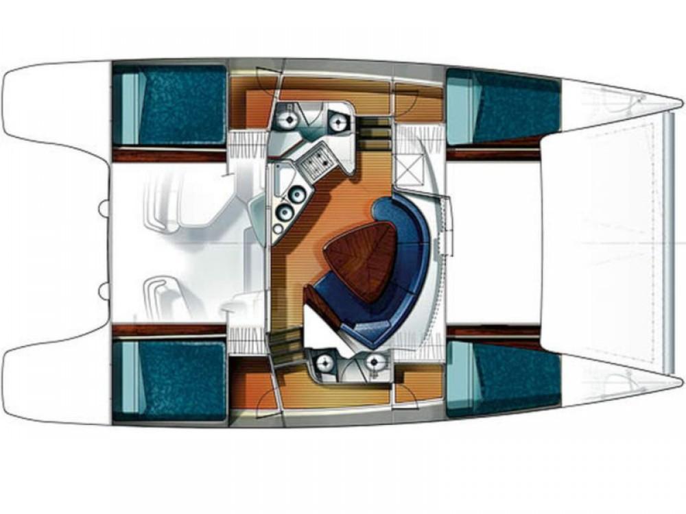 Catamaran te huur in Bay of Zea voor de beste prijs