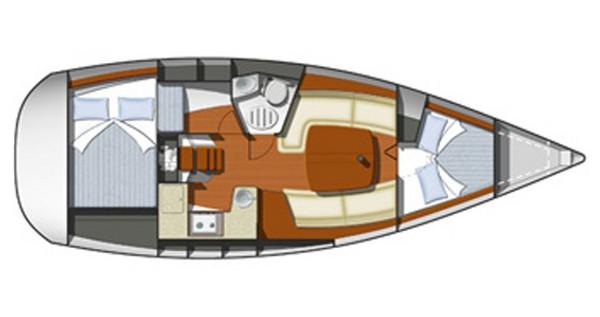 Huur Zeilboot met of zonder schipper Jeanneau in Rogoznica