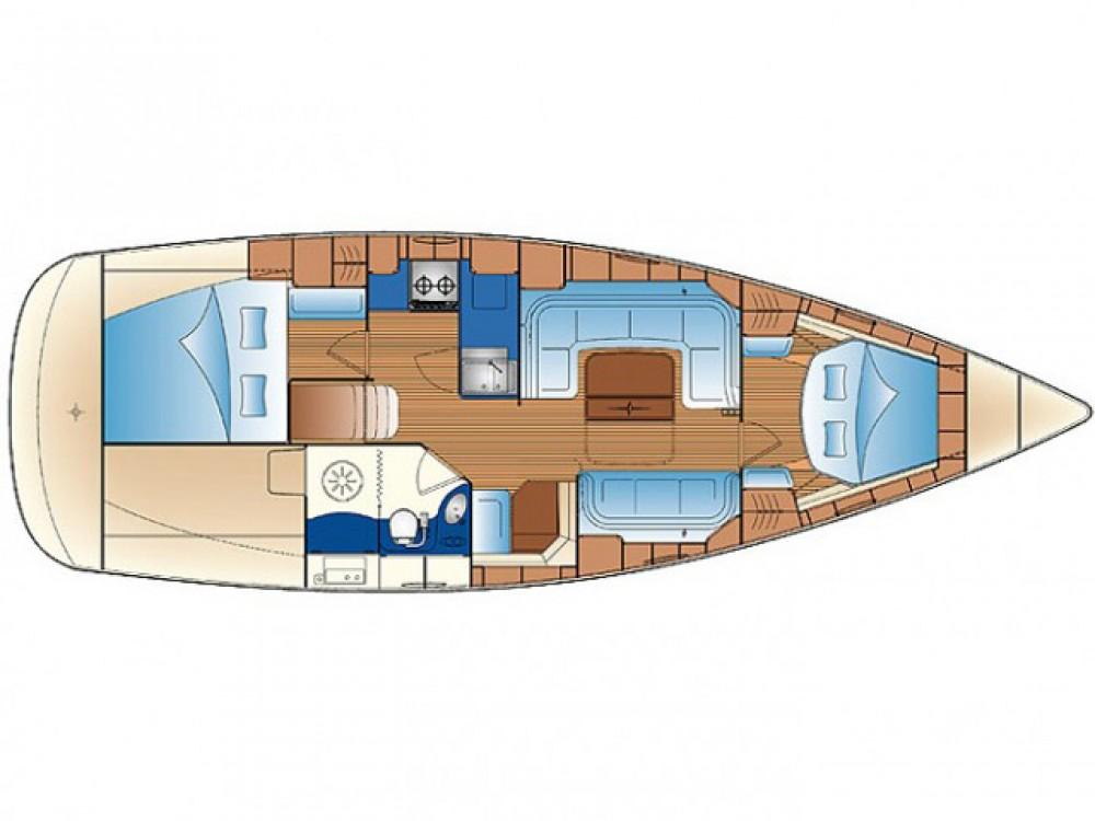 Verhuur Zeilboot in Rogoznica - Bavaria Bavaria 34 C