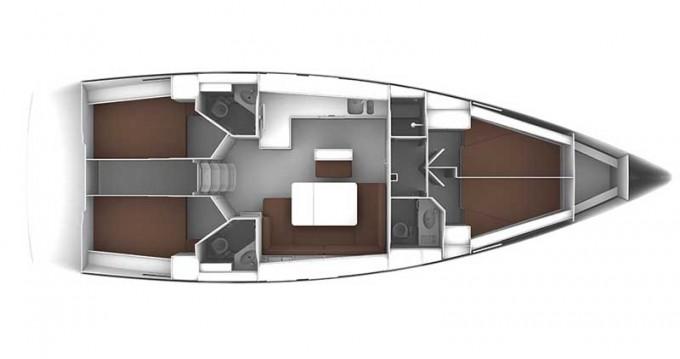 Jachthuur in Rogoznica - Bavaria Cruiser 46 via SamBoat