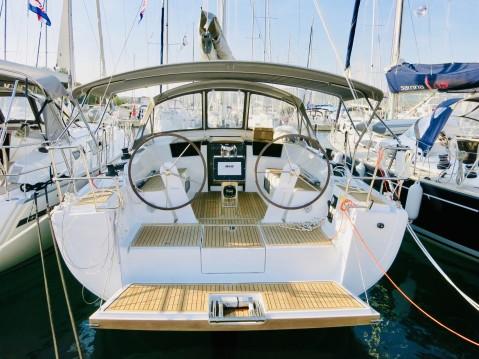 Verhuur Zeilboot in Milna - Hanse Hanse 388