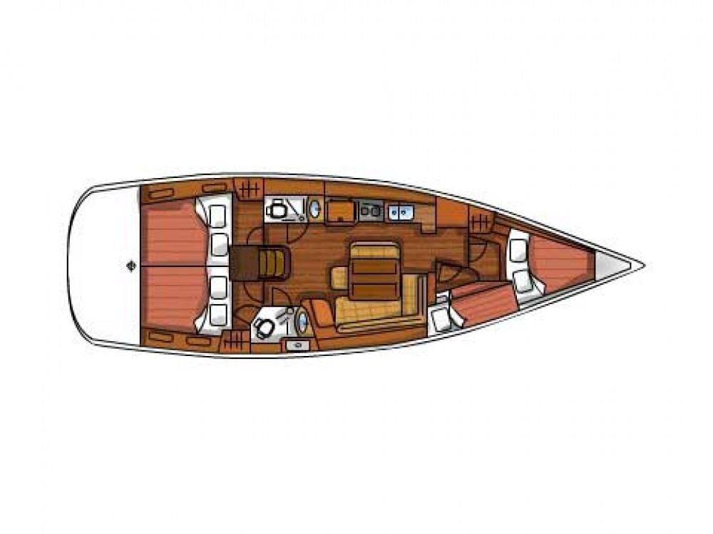 Bootverhuur Sukošan goedkoop Oceanis 43