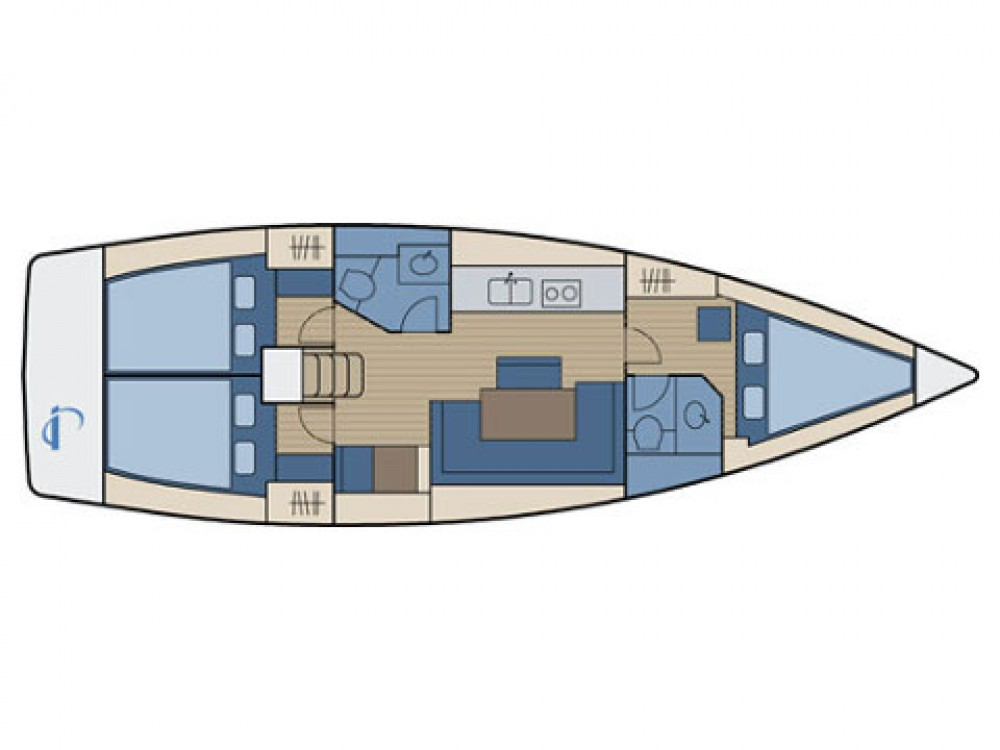 Bootverhuur Bavaria Bavaria 40 Cruiser in Sukošan via SamBoat