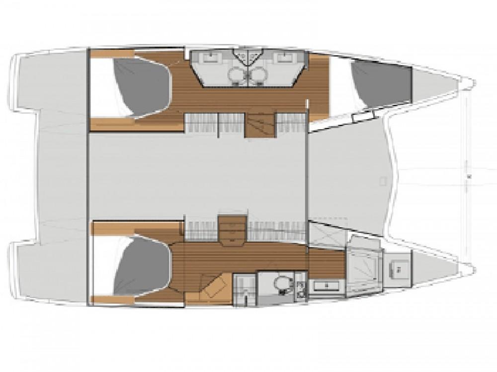 Huur Catamaran met of zonder schipper Fountaine Pajot in Victoria