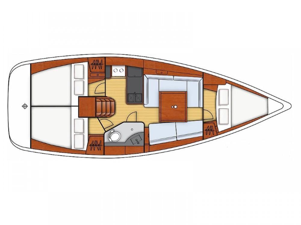 Bootverhuur Bénéteau Oceanis 34 in  via SamBoat